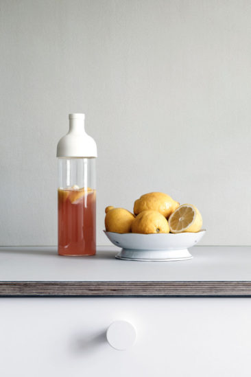 Quelques pistes pour une cuisine minimaliste = Des appareils ménagers dissimulés