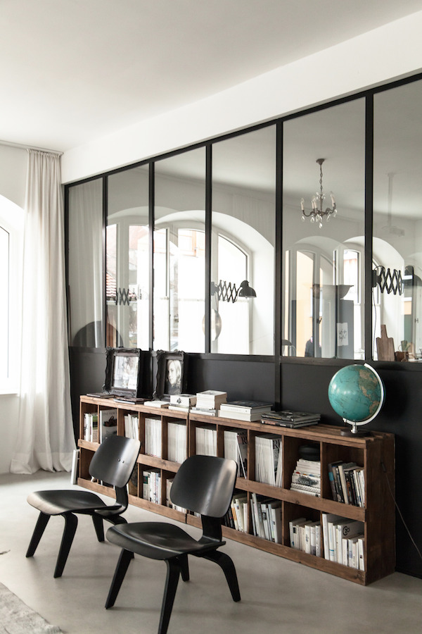 verri re atelier pour un style industriel. Black Bedroom Furniture Sets. Home Design Ideas