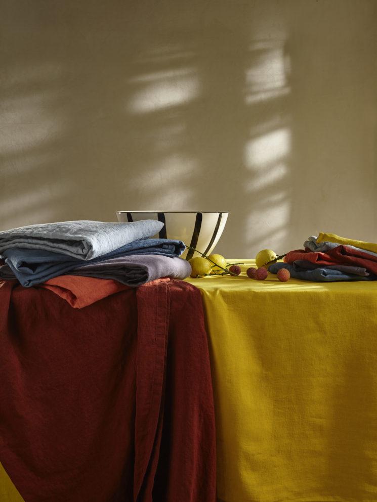 Collection linge de maison en lin Bouchara