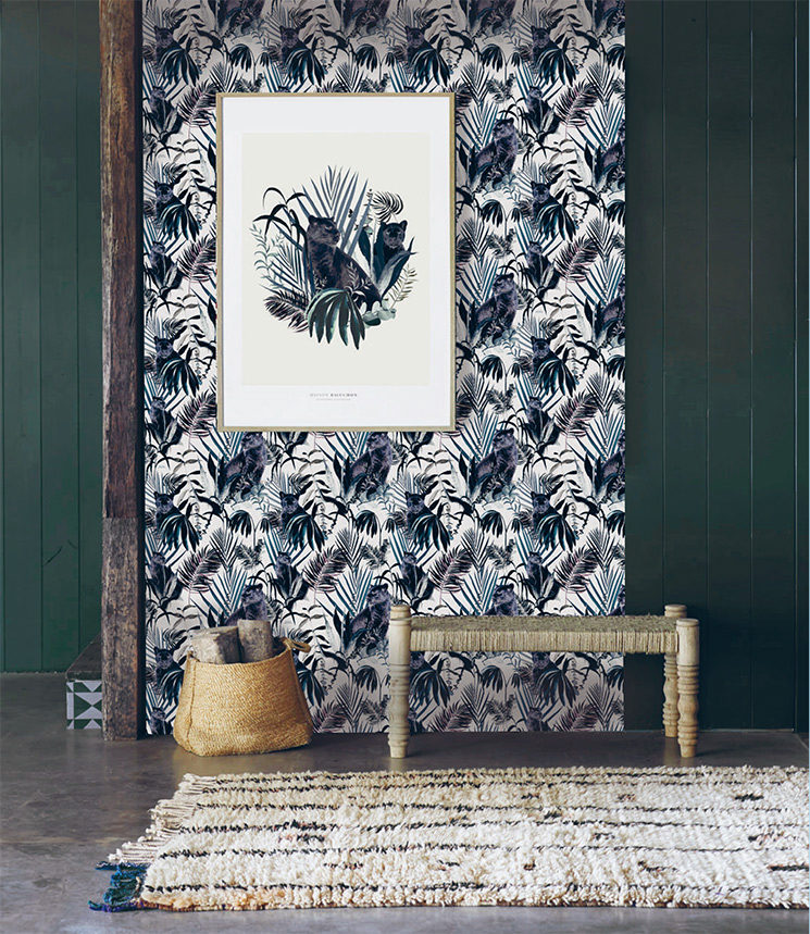 Les jolis motifs de la Maison Baluchon, papiers-peints et affiches