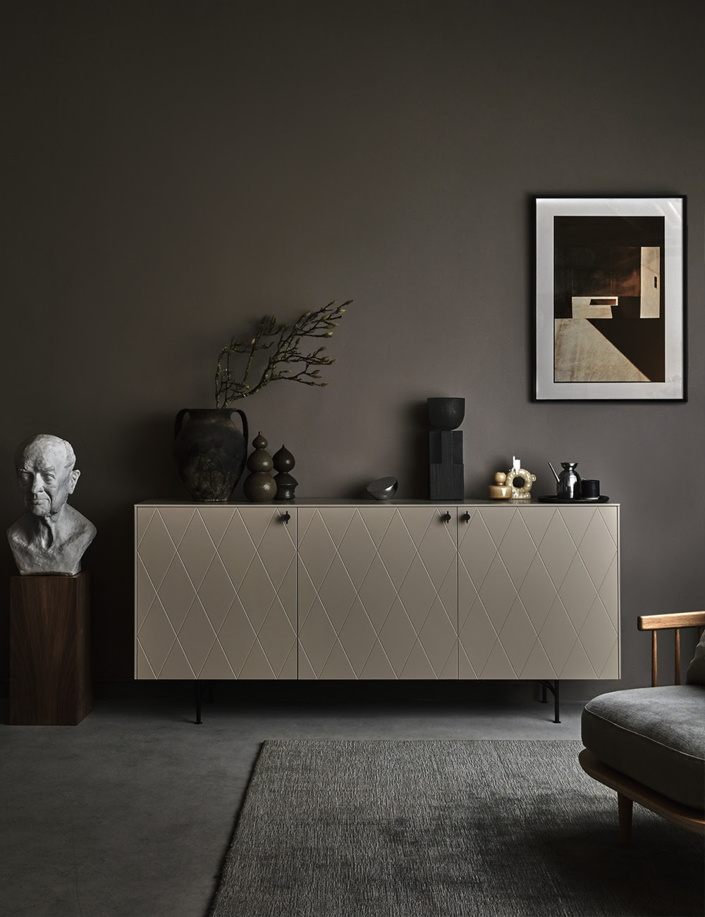vague grège sur les nouveautés de design scandinave