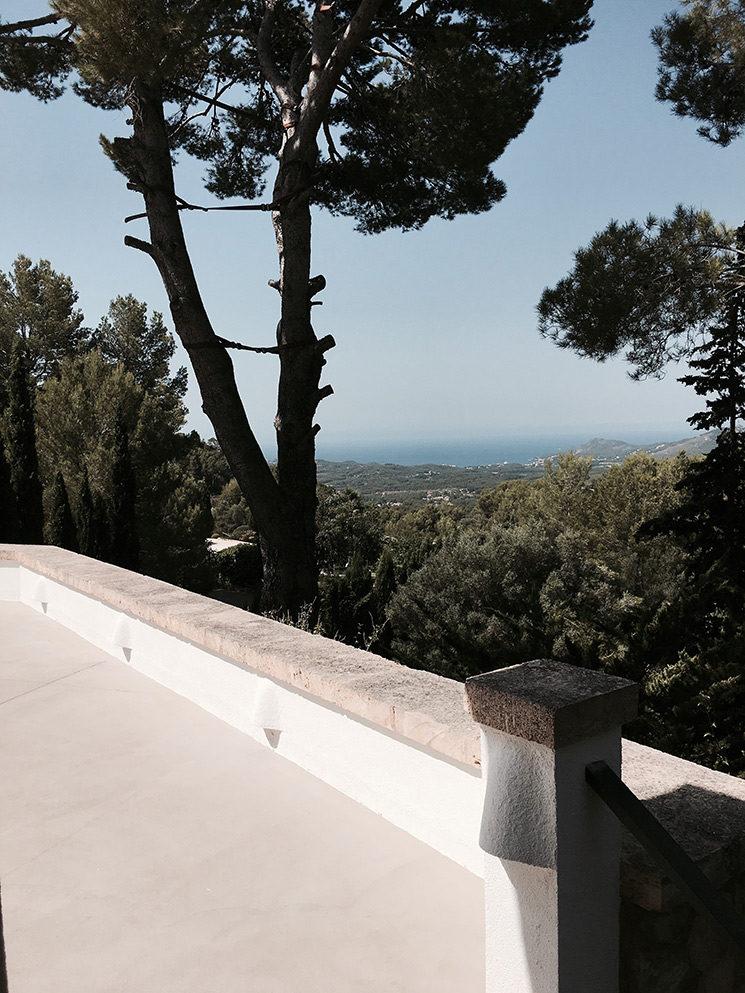 La Villa Son Font à Majorque au décor rustique méditerranéen
