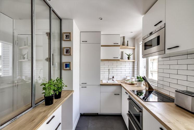 Quelques pistes pour optimiser les angles dans sa cuisine || Atelier Daaa 2016 - Paris rue de Rome