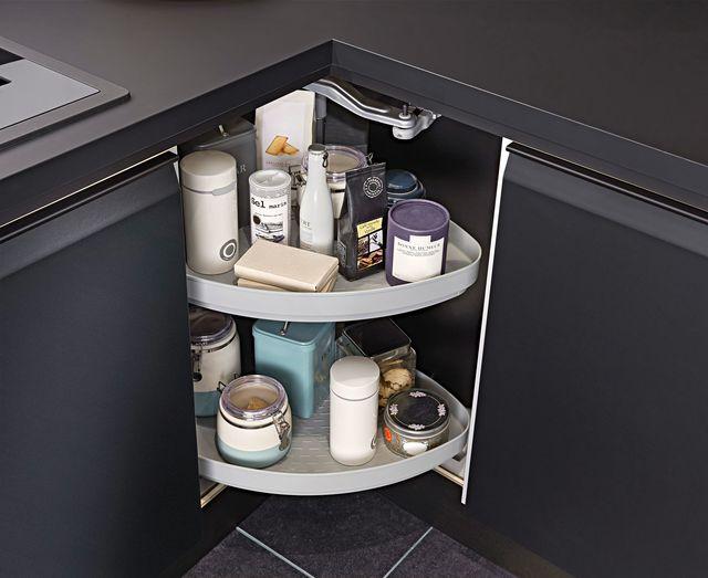 Quelques pistes pour optimiser les angles dans sa cuisine || Meuble d'angle Lapeyre