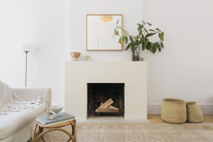 Un intérieur minimaliste + contemporain + neutre + bohème || Elizabeth Roberts - Prospect heights townhouse