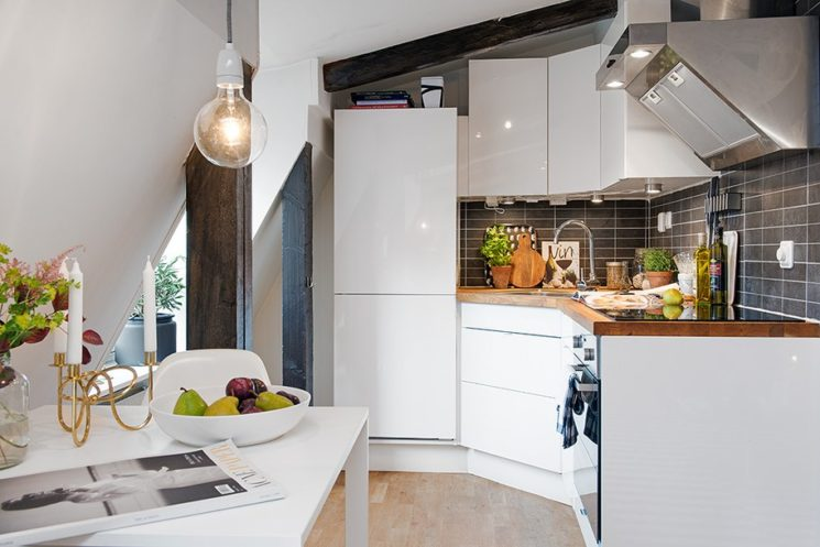 Quelques pistes pour optimiser les angles dans sa cuisine ...