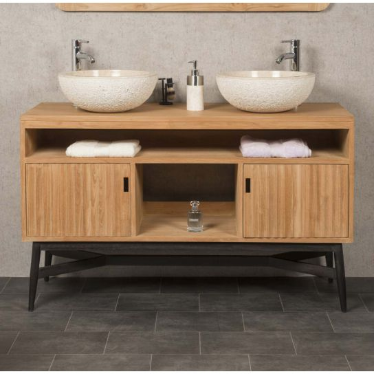 une salle de bain wabi sabi. Black Bedroom Furniture Sets. Home Design Ideas
