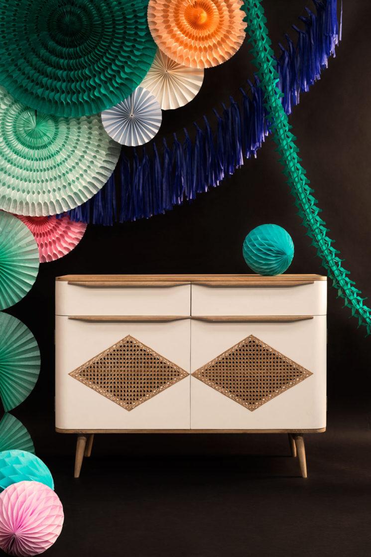 Woodjam, éditeur de mobilier - Collection CANNÉERétro