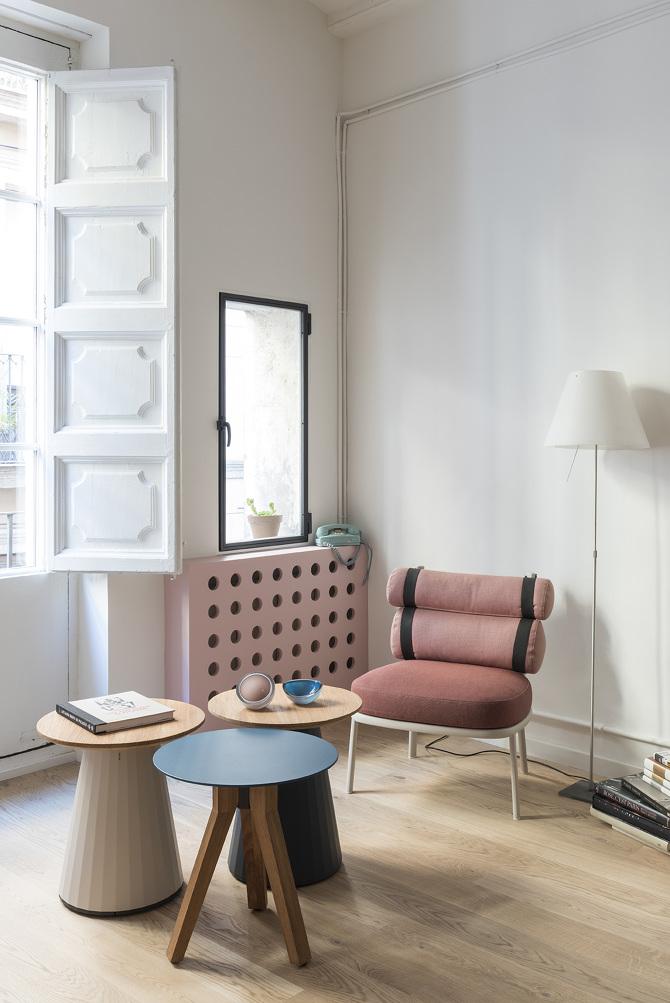 Inspiration d co rose blush rose saumon for Deco appartement rose