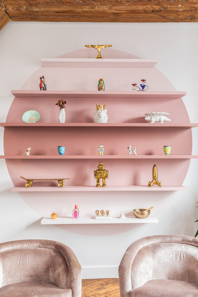 [ Inspiration déco ] Rose blush, Rose saumon || Un loft à Williamsburg