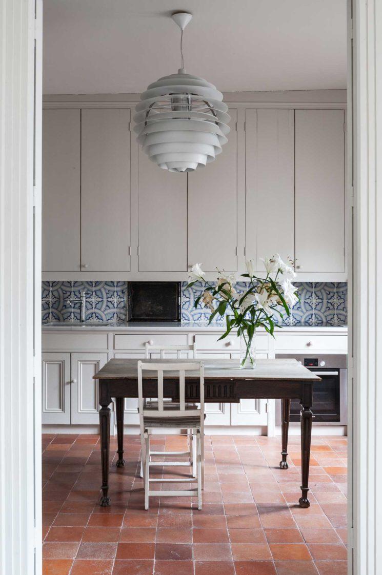 L'atout Tomettes en décoration d'intérieur || Appartement à Madrid - Agence Erico Navazo