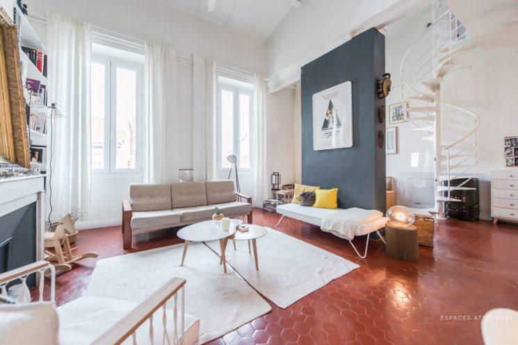 L'atout Tomettes en décoration d'intérieur || Duplex à Marseille