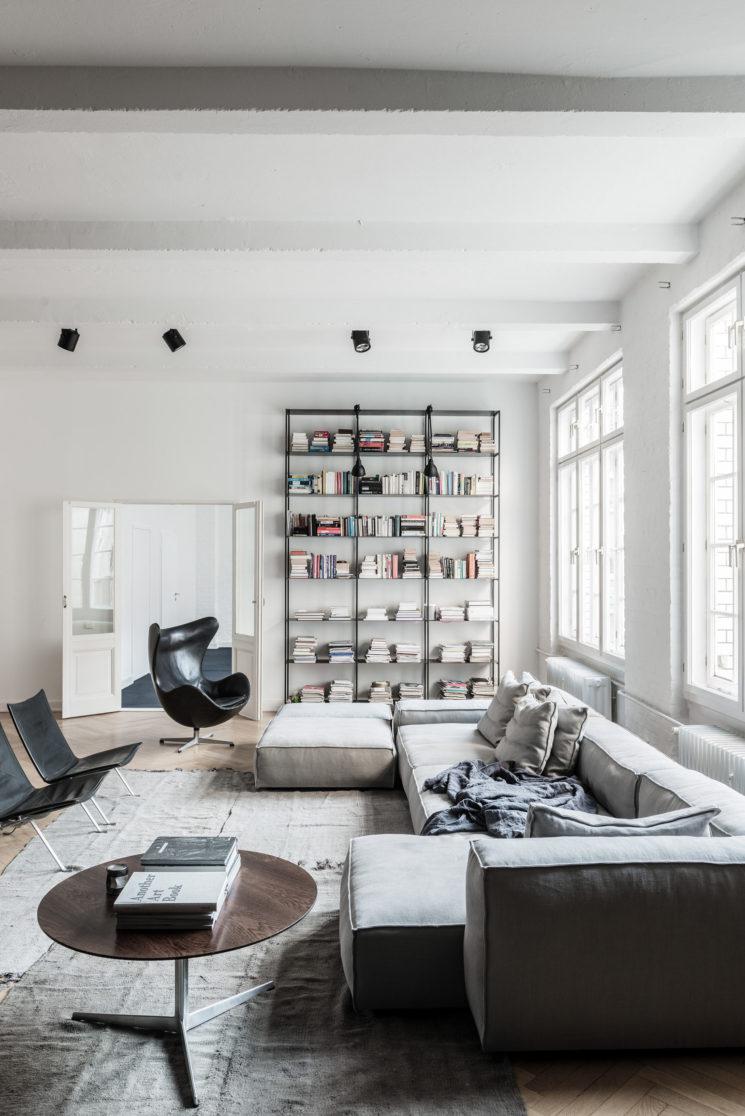Deco Petit Salon Appartement la déco au masculin selon romain de for interieur
