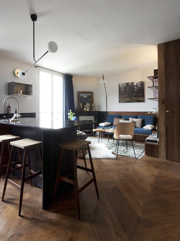 Un déco au masculin - L'intérieur de l'architecte François Doll