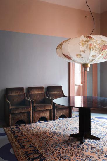 [ Inspiration déco ] Rose blush, Rose saumon || Nouvelle mise en scène à la Dimore Gallery Milan