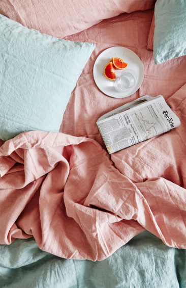 [ Inspiration déco ] Rose blush, Rose saumon || Catalogue du magasin Hawkins à New York
