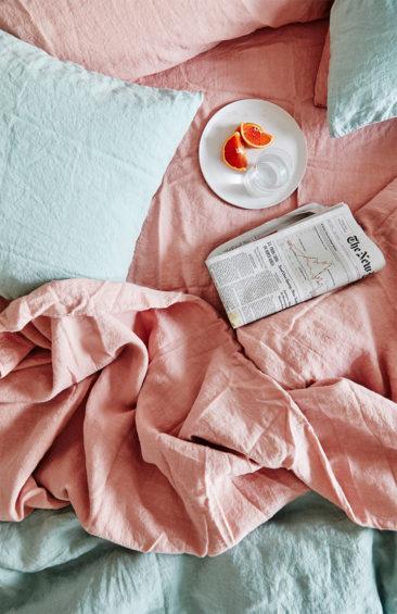 [ Inspiration déco ] Rose blush, Rose saumon || Catalogue du magasin Hawkins à New York