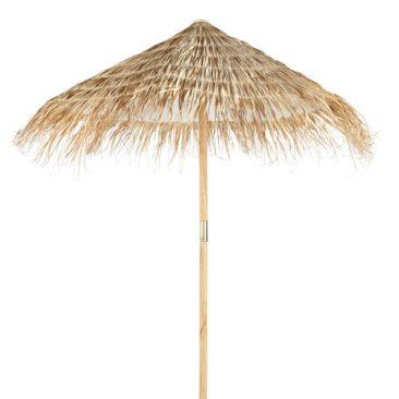 Parasol en sapin et fibre végétale tressée, Bahamas sur Maisons du Monde