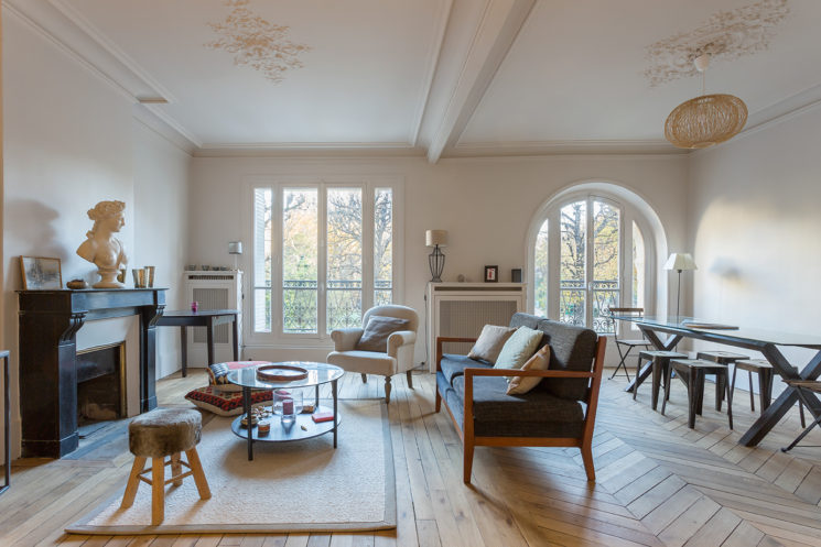 Rénovation peinture d'un appartement parisien par Monsieur Peinture