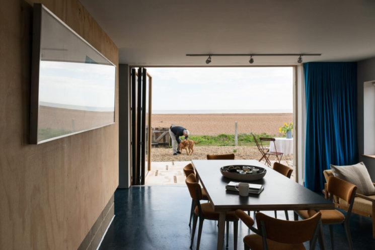 [ Atout charme du pin en aménagement intérieur ] Maison de mer dans le Suffolk