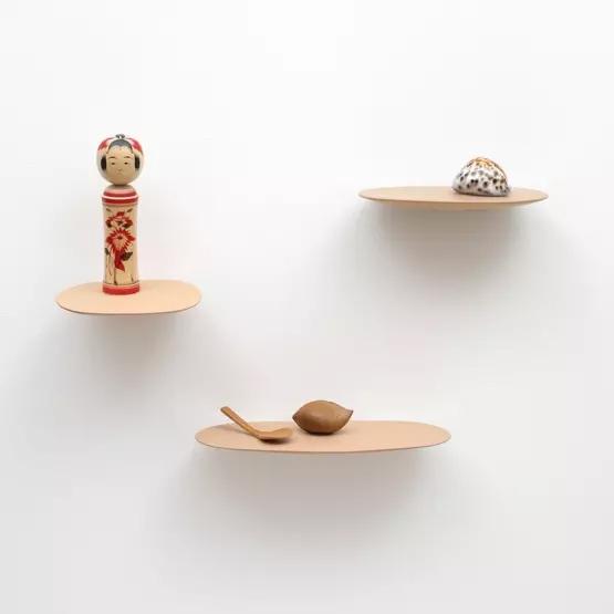 Étagères en céramique, Isola, design Studio Briechet Ziegler pour Moustache
