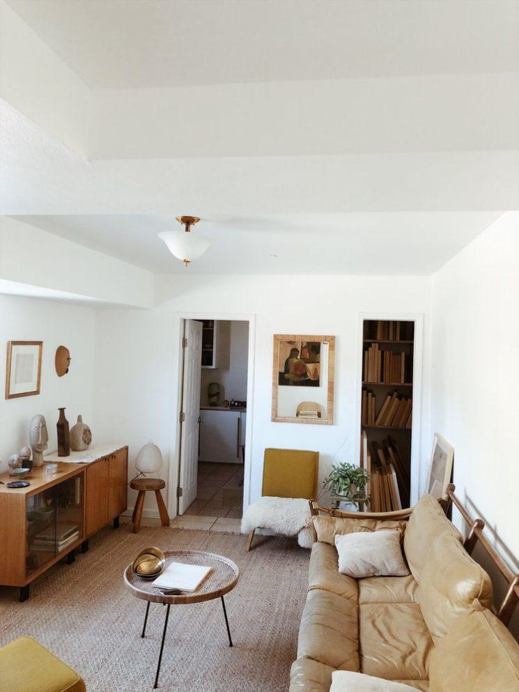 L'intérieur de Kirill Bergart à L.A. bohème vintage