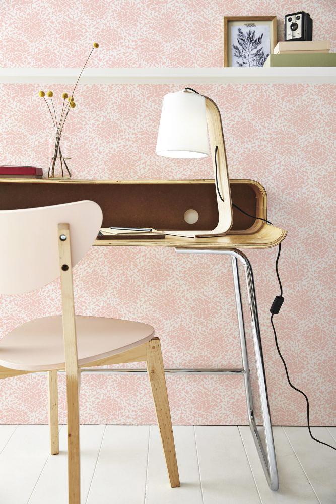 La Maison Martin Morel, passé recomposé || Papier-Peint Nid rose