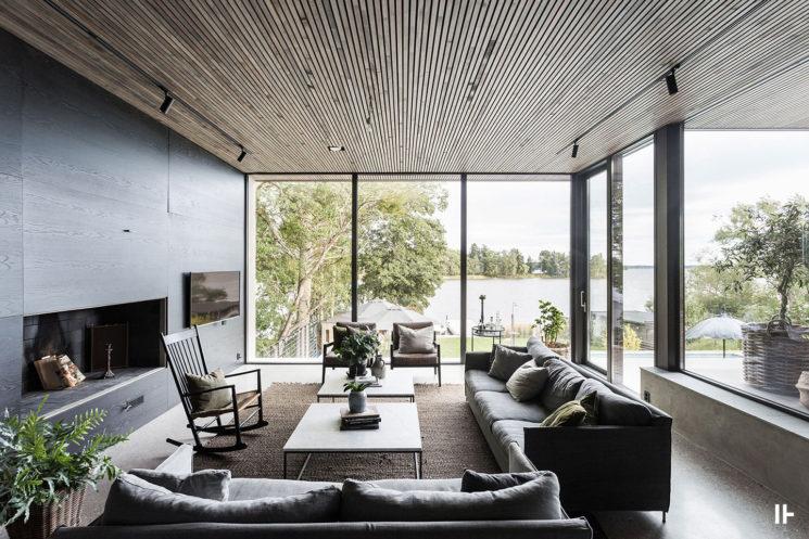 Villa Tryskar par l'agence Intressanta Hus
