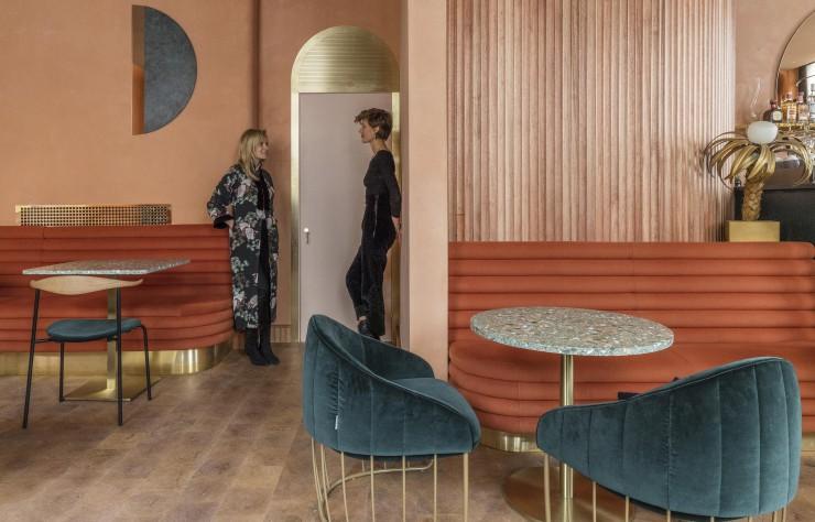 Terracotta mania, le rouge brique est partout || Omar's place à Londre - Conception : studio Sella Concept
