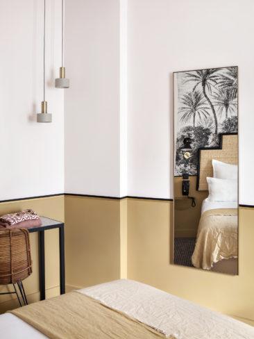 Le retour du jaune paille en déco || Hôtel Doisy Etoile Paris