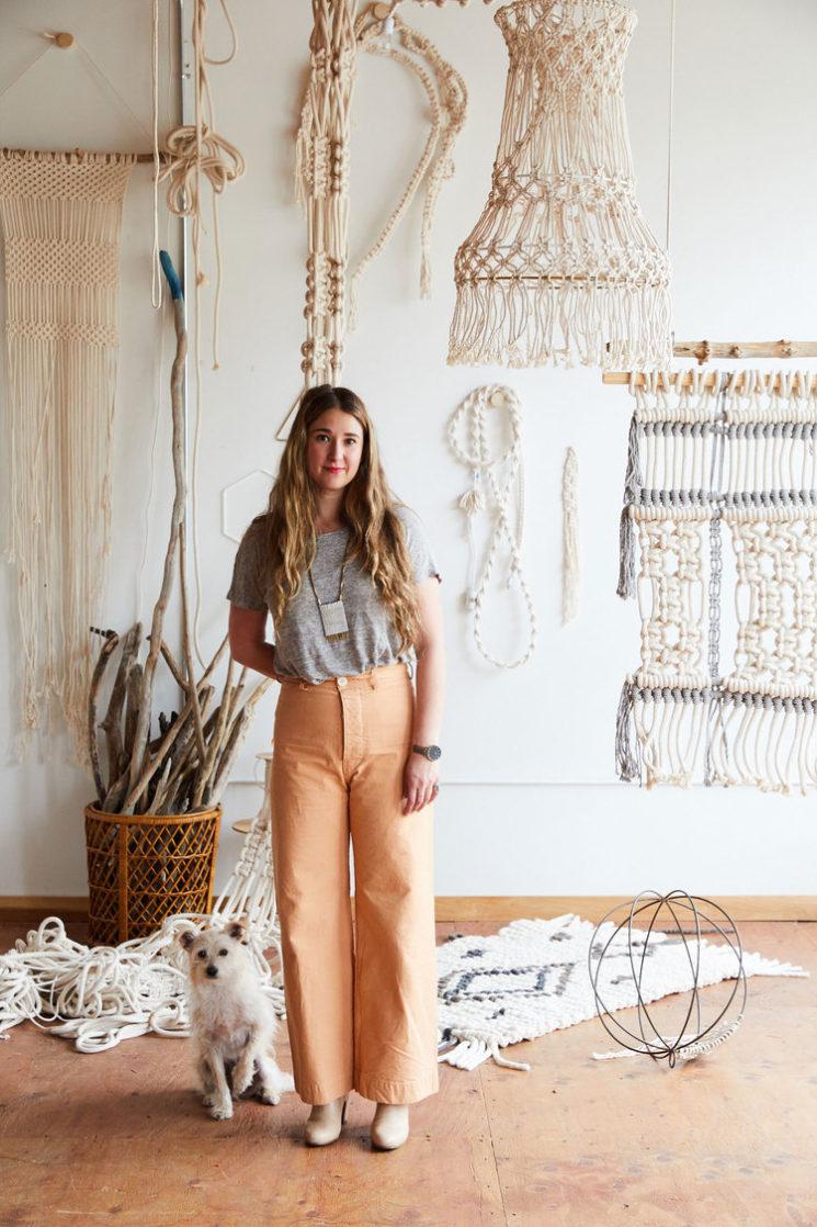 [ Livre ] Modern Macrame d'Emily Katz, 33 projets à réaliser pour sa maison