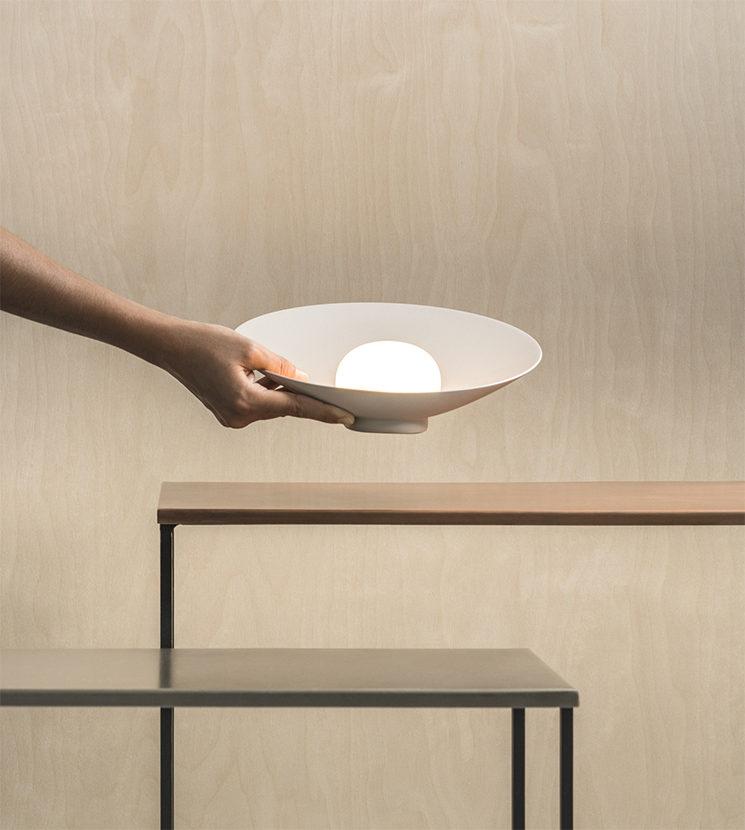 Note Design Studio - Lampe MUSA pour la marque VIBIA
