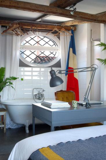 Inspiration déco : La mezzanine || Un duplex aménagé dans un grenier