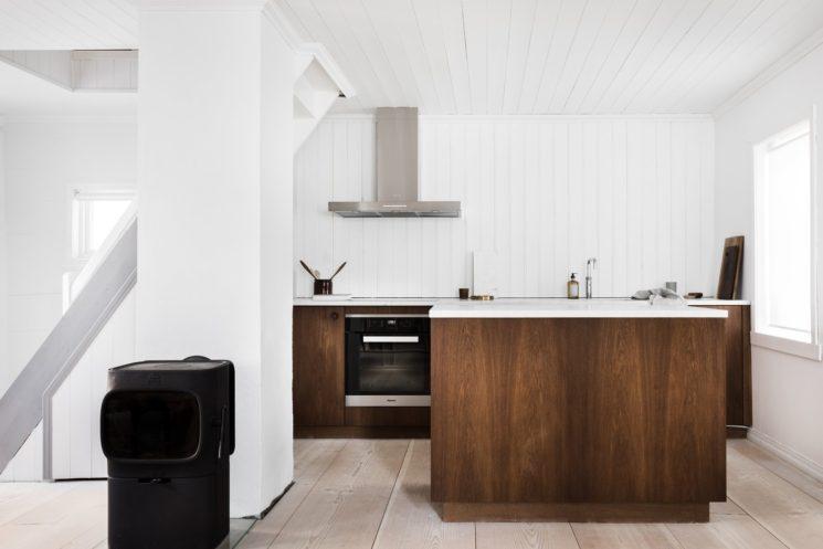 Une vieille maison à Bergen qui se fait design || Todd Saunders architecte