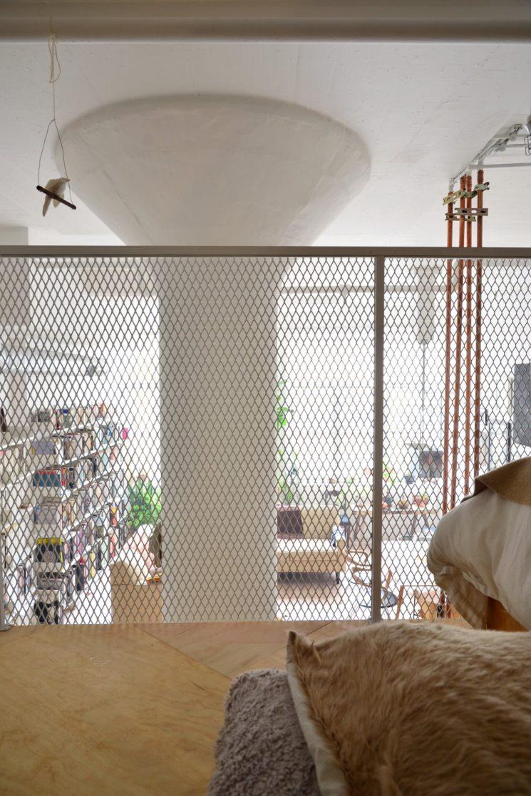 Inspiration déco : La mezzanine || Loft à Brooklyn, New-York par l'agenceNew-Affiliates