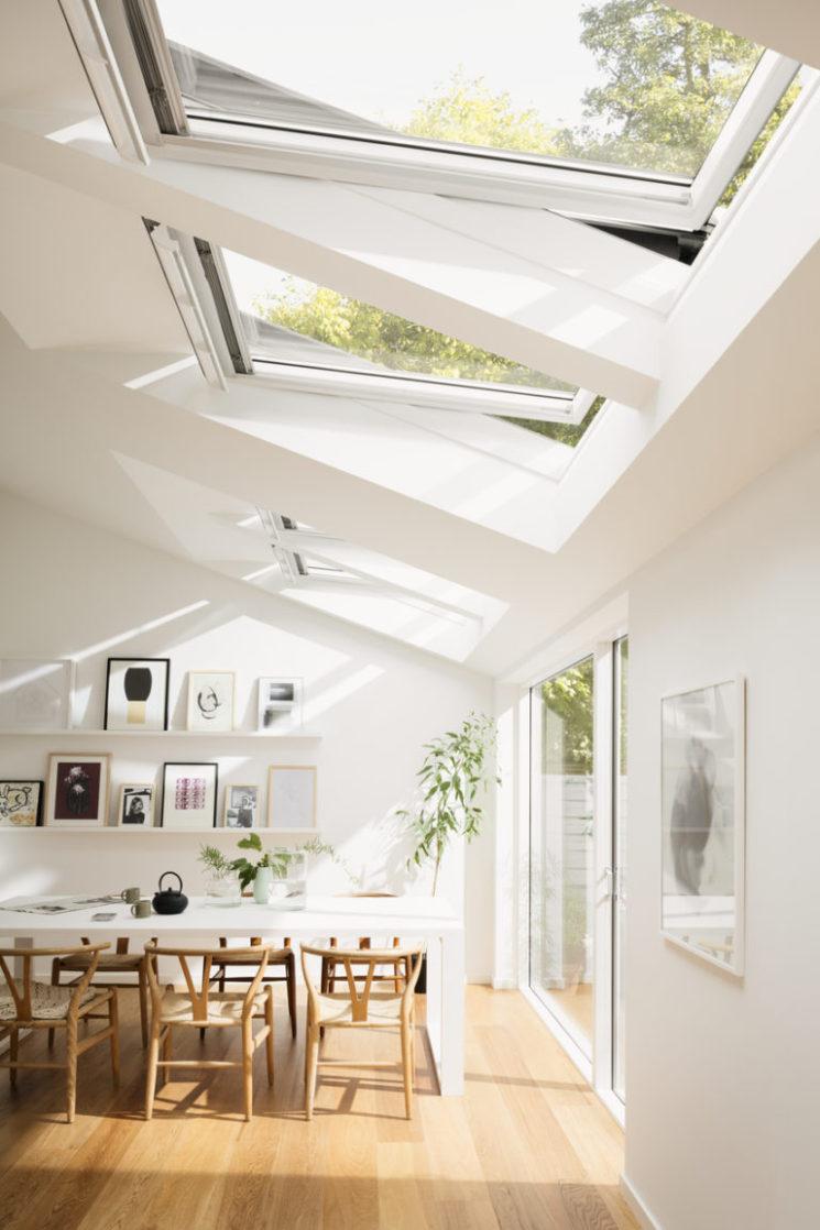 Verrières de toit, faites entrer la lumière || La maison de Hege in France