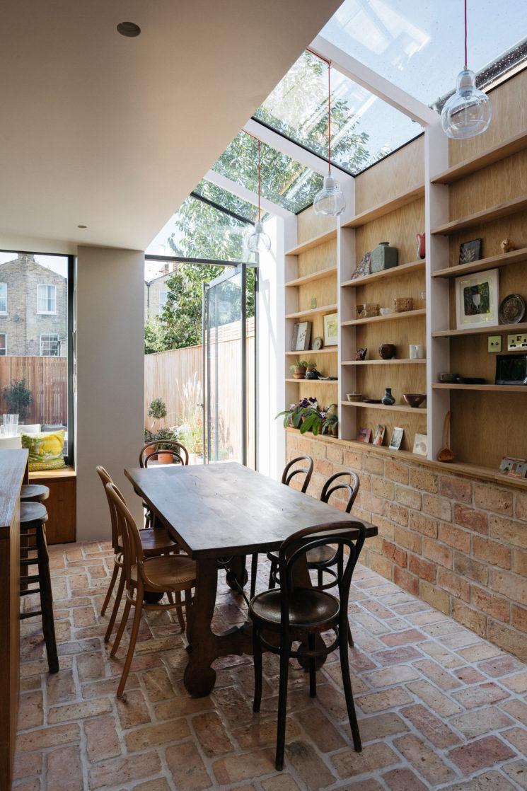 Verrières de toit, faites entrer la lumière || Architecte Neil Dusheiko, Gallery House