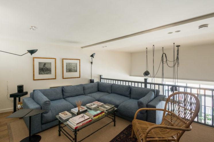 Inspiration déco : La mezzanine || Duplex Imperial Hall à Londres