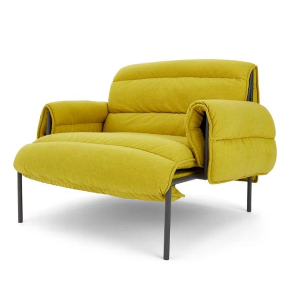 Fauteuil lounge, vert chartreuse, Sefu Made.com 549 € sur made.com
