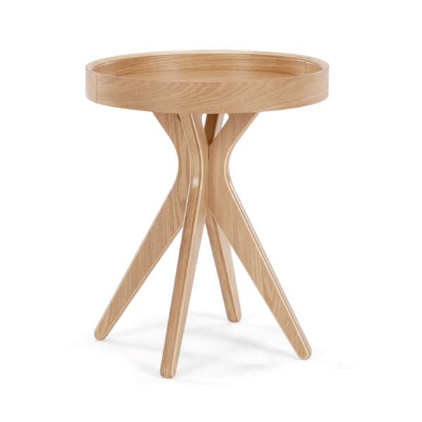 Table de chevet en frêne, Pieta Made.com 119 € sur made.com