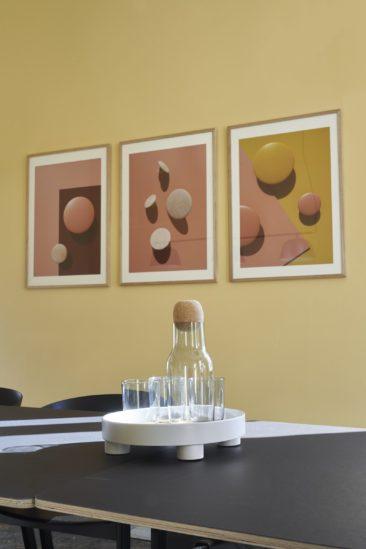 Le retour du jaune paille || Showroom Nomad Workspace Muuto