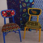 Wax mania, collab Sandrine Alouf & Au fil des couleurs