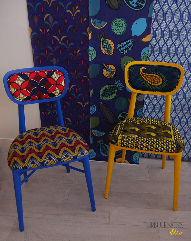 Wax mania, collab Sandrine Alouf \u0026 Au fil des couleurs