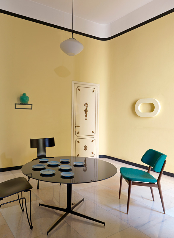 Le retour du jaune paille en déco || Studio Pepe - Appartement Art déco