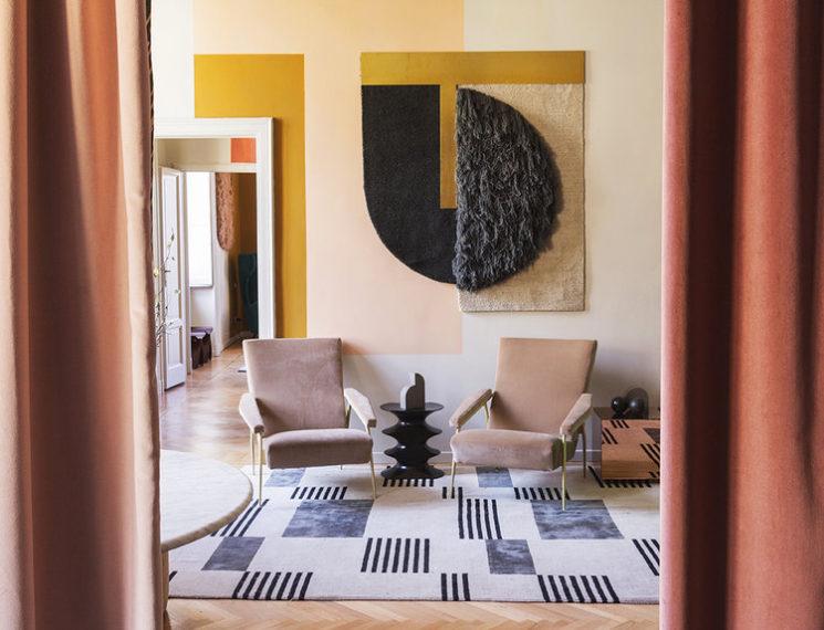 Le retour du jaune paille en déco || Studio Pepe - Hello Sonia wall hanging