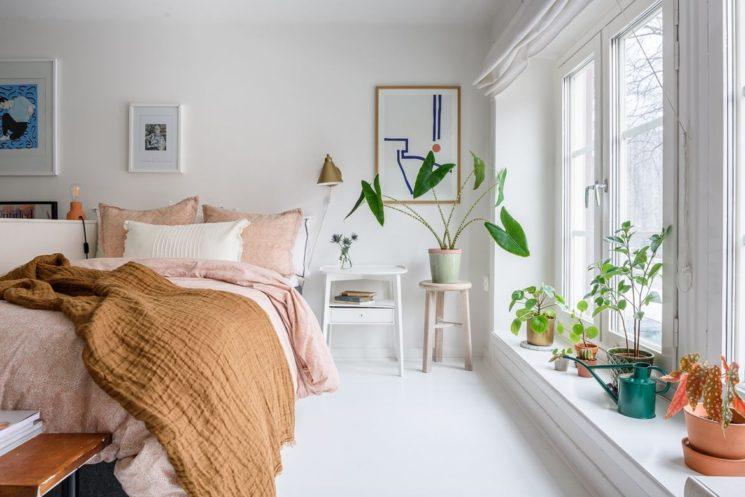 [ Inspiration déco ] Envie de couleurs vitaminées dans sa déco ! || Un appartement en blanc et couleurs pastel