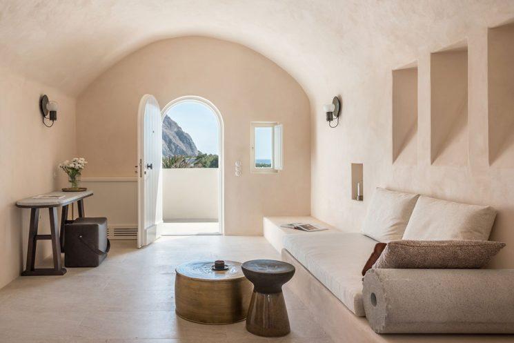 Istoria hôtel à Santorin, par Interior Design Laboratorium (Athènes)
