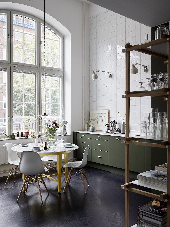 Focus sur une cuisine scandinave industrielle - Turbulences Déco