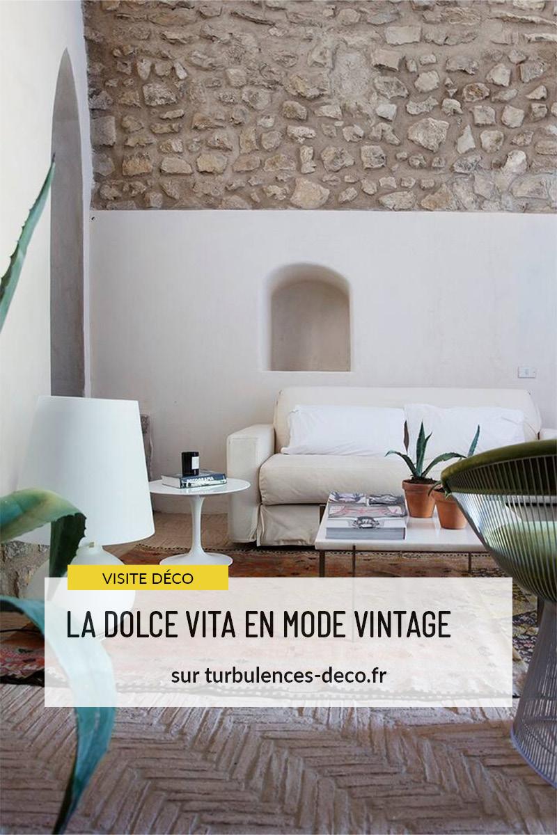 La Dolce Vita en mode vintage - Une propriété à louer à Punta Campanella à retrouver sur Turbulences Déco