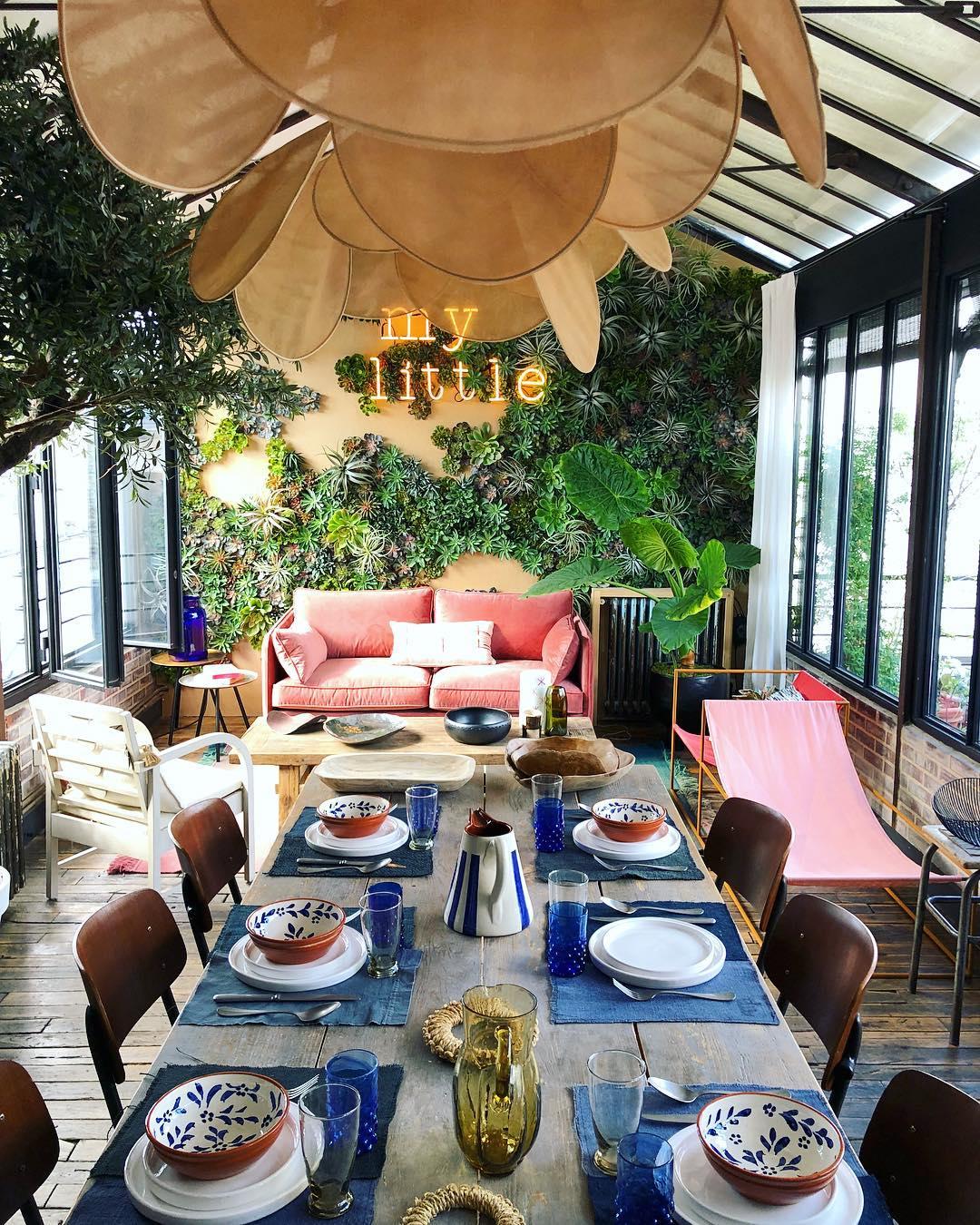 La suspension Pale de Georges Store || Installation L'appartement My Little Paris et Ailleurs Paris